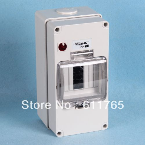free shipping ip66 circuit breaker box solar fuse holder in circuit breakers from electrical
