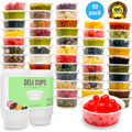 Plastic Food Storage Containers with Lids Baby Portion Control Kids Lunch Boxes Watertight Leakproof Kitchen Set