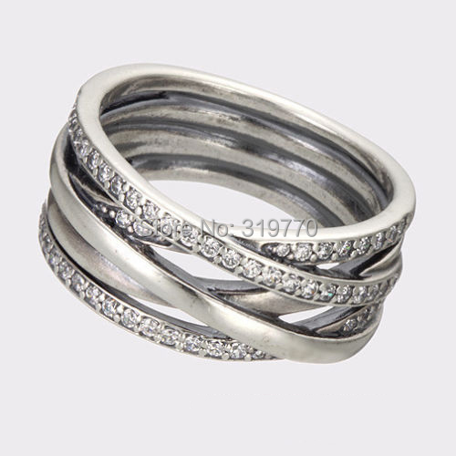 925 sterling silver ring authentic european brand fashion