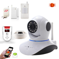 720P HD CCTV Camera 64G TF Micro SD Slot IR Cut Night Vision Camera Wifi IP