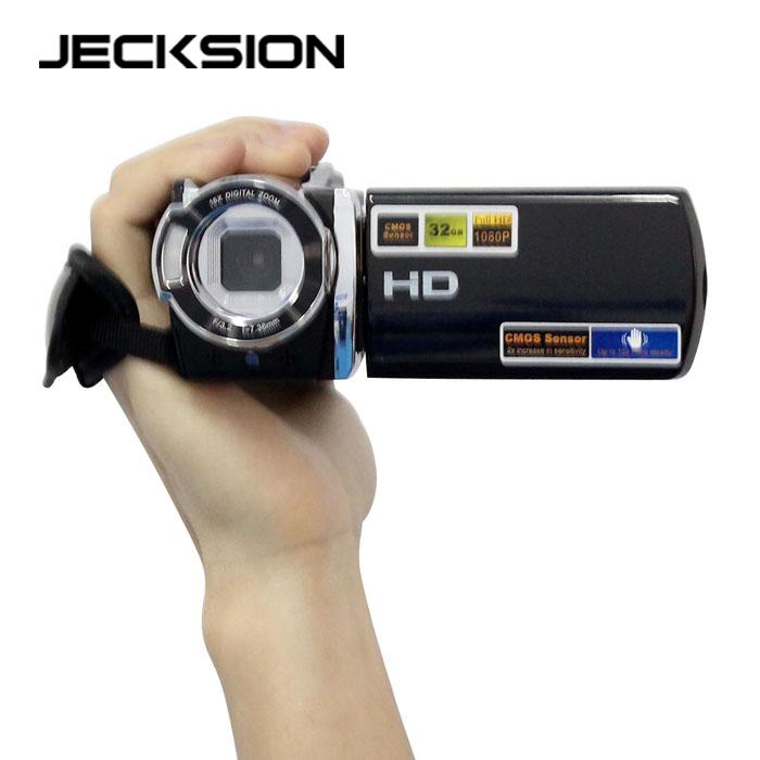 New 1080P Digital Video Camcorder Full HD 16 MP 16x Digital Zoom DV Camera Kit Jecksion
