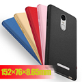 New Frosted Silicone TPU Painted Soft Phone Back Cover Case For Xiaomi Redmi Note 3 3i