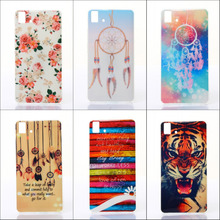For BQ Aquaris E5 4G 3GSoft TPU Silicone Phone Case for BQ Aquaris E5 4G / 3G Ultra Thin Gel Cartoon Painting Back Covers
