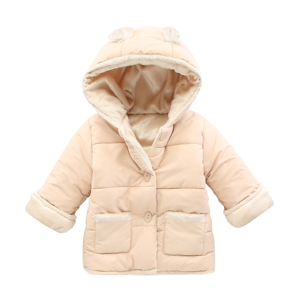2015Boys Winter Jacket Ears Hooded Jackets For Boys Coat Cotton-Padded Parka Thick Warm Kids Clothes Outerwear Children Clothing<br><br>Aliexpress