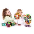 77Pcs Lot Dinosaur Magnetic Designer Building Blocks Models 3D DIY Plastic Creative Bricks Learning Educational Toy