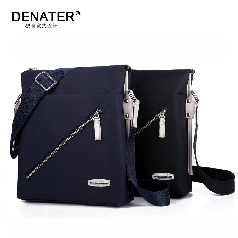 2015 Men leisure fashion leather bag Inclined shoulder men bag Single shoulder bag travel Briefcase bags for men(China (Mainland))
