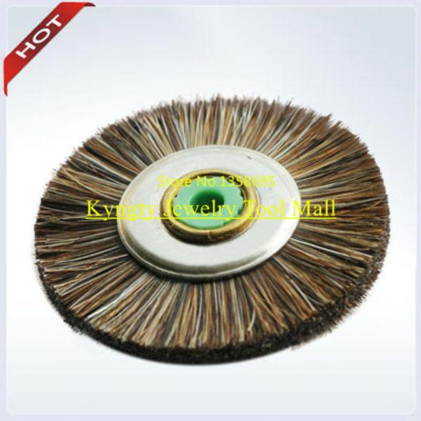 Brush of Horse Hair with Iron Core Dental Brush Be used with Flex Shaft Machine for Dental Polishing 200 pcs / box Hole 2.35 mm(China (Mainland))