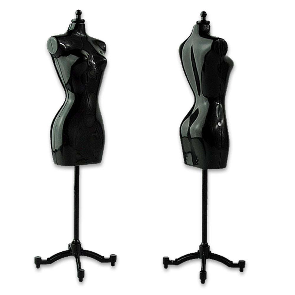 Cheap+Free shipping 4 pcs Display Gown Dress Form Clothe Mannequin Model Stand Rack Holder For Barbie Doll ESA385(China (Mainland))