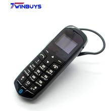 J8 Bluetooth Mini Mobile Phone sim car mini phone + bluetooth headset earphone Russian Hebrew Arabic Multil-Languages X5 M5 M3(Hong Kong)
