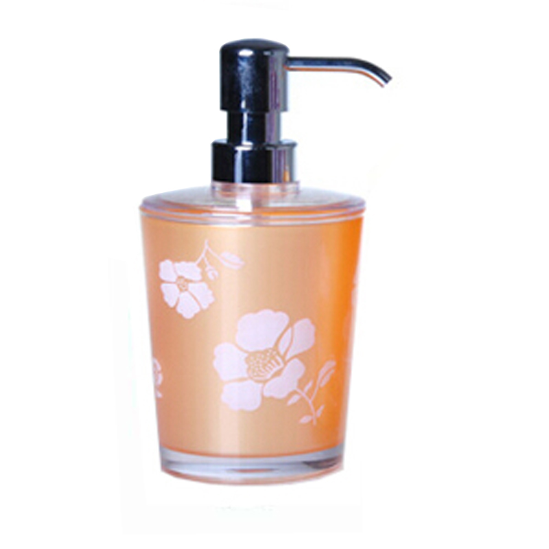 Plastic bathroom accessories plastic soap dispenser with for Bathroom accessories plastic