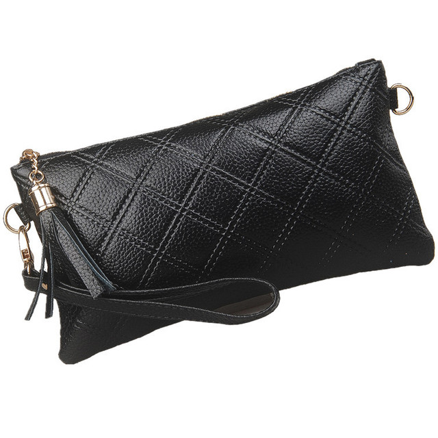 Free shipping New arrival 2013 women's handbag day clutch women's cowhide clutch bag women's one shoulder cross-body female