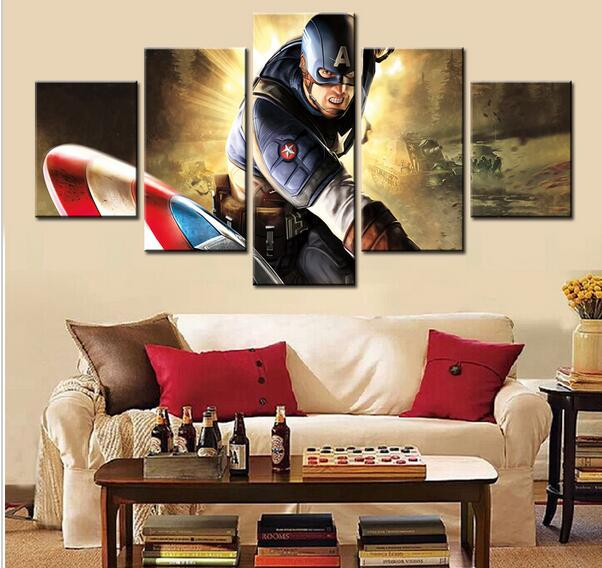 Captain America Wall Art compare prices on wall art captain america- online shopping/buy