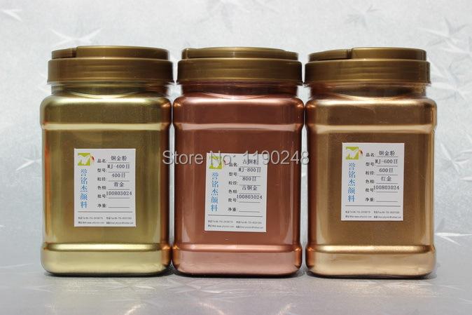 200mesh 35um copper powder bronze gold metal pigment rich pale gold pigment powder(China (Mainland))