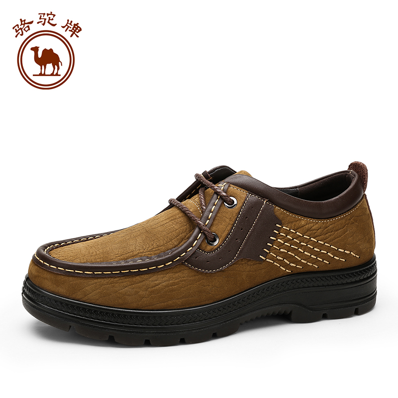 Camel men's shoes 2015 winter new comfort casual daily round lace large size W532287390