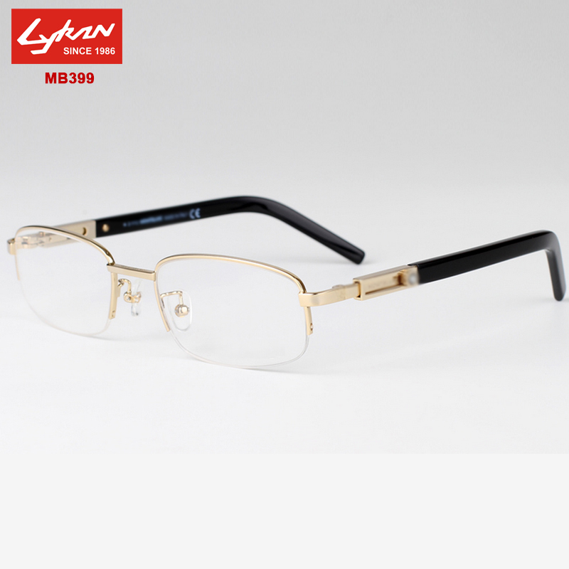 Half Rimless Eyeglass Frames : Optical Frame Men Brand Half Rimless eyeglasses frames ...