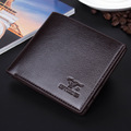 Wholesale Korean type Septwolves Brand cheap men s wallet short small men coin purse money holder