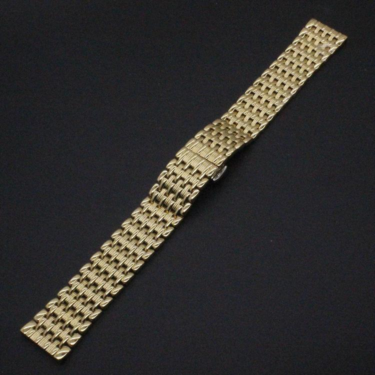 Золото ремешок для роскошные часы стильные часы аксессуары 18 мм 20 мм 22 мм мода тоньше браслеты продвижение цена нового