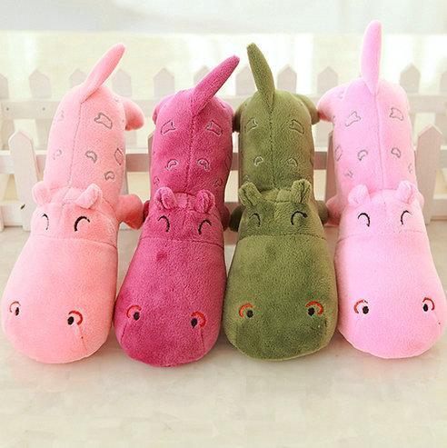 20-40cm wholesale small cloth doll Hippos plush toys animals stuffed plush baby toys kids toys pillow wedding gift(China (Mainland))