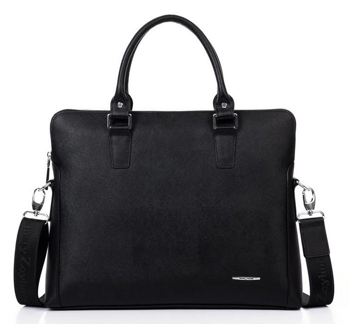 2015 Fashion Mens Messenger Bags Genuine Leather Briefcase Business Computer Handbag Bag Travel Work Gentleman - High-end Shoes Store store