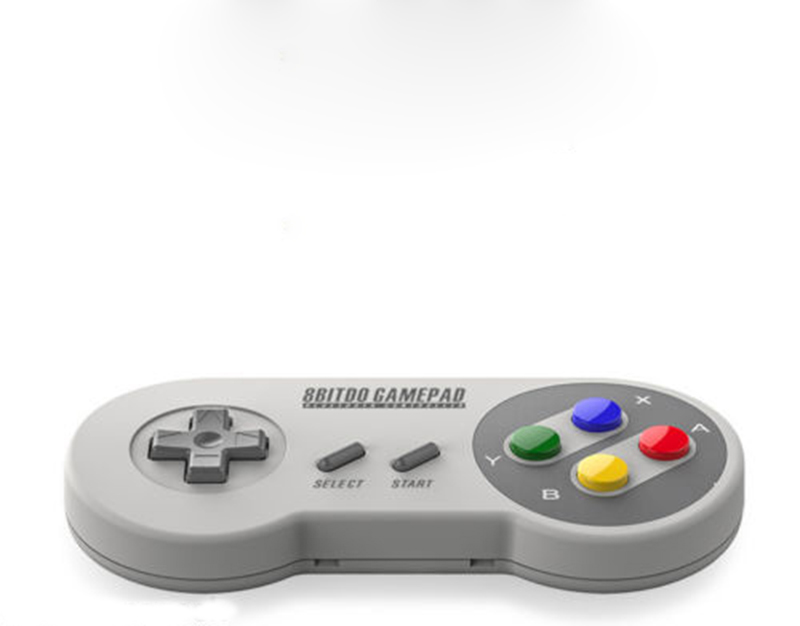 Hot 8BITDO SFC30 Bluetooth Wireless Game Controller Gamepad W/Xstand For iPhone Samsung PC High quality(China (Mainland))