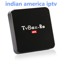 Android TV Box R9 Included Indian America IPTV 1000+Indain USA UK IT Sweden Netherland German Portugal Sports Live Channels