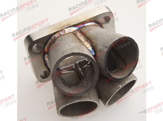 4-1 4 Cylinder Manifold Header Merge Collector Stainless Steel T4 Flange