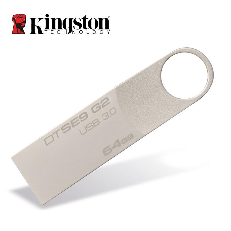 Kingston USB Flash Drive Pendrive Stick DTSE9G2 8GB 16GB 32GB 64GB 128GB 3.0 Pen Drive Mental Ring Memory Flash Memoria(China (Mainland))