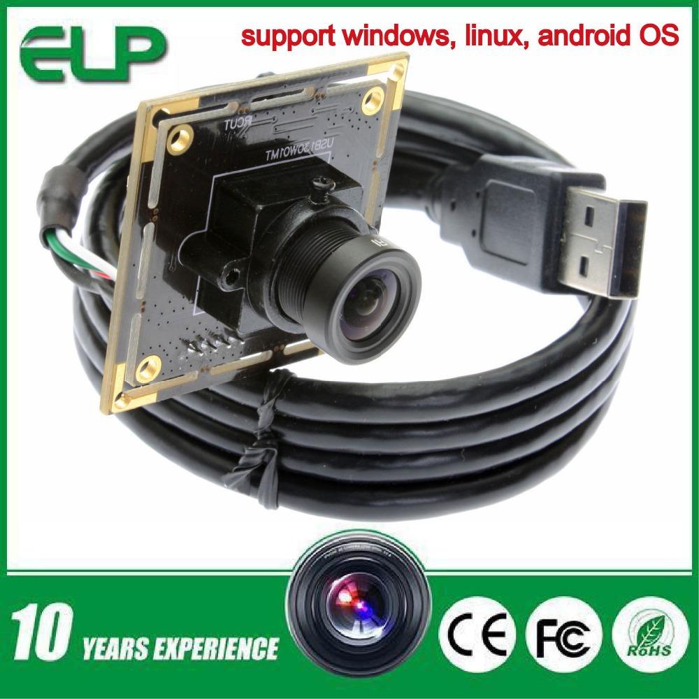 Гаджет  CMOS  1.3 Megapixel HD digital USB camera module for smartphone ELP-USB130W01MT-L36 None Безопасность и защита