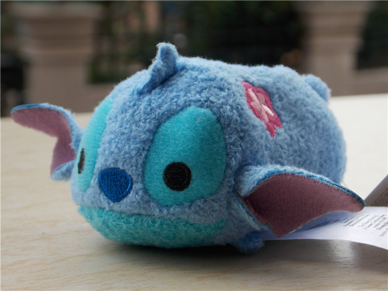 """2016 New D i s n e y Store Tsum Tsum Summer Stitch in Lilo and Stitch 3.5"""" Plush Doll Toy(China (Mainland))"""