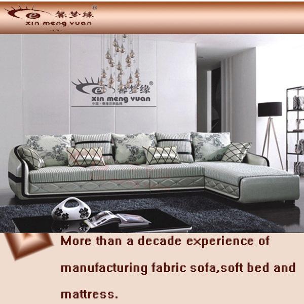 morden sofa,fabric+PU sofa,L shaped sofa,sectional sofa set A56#