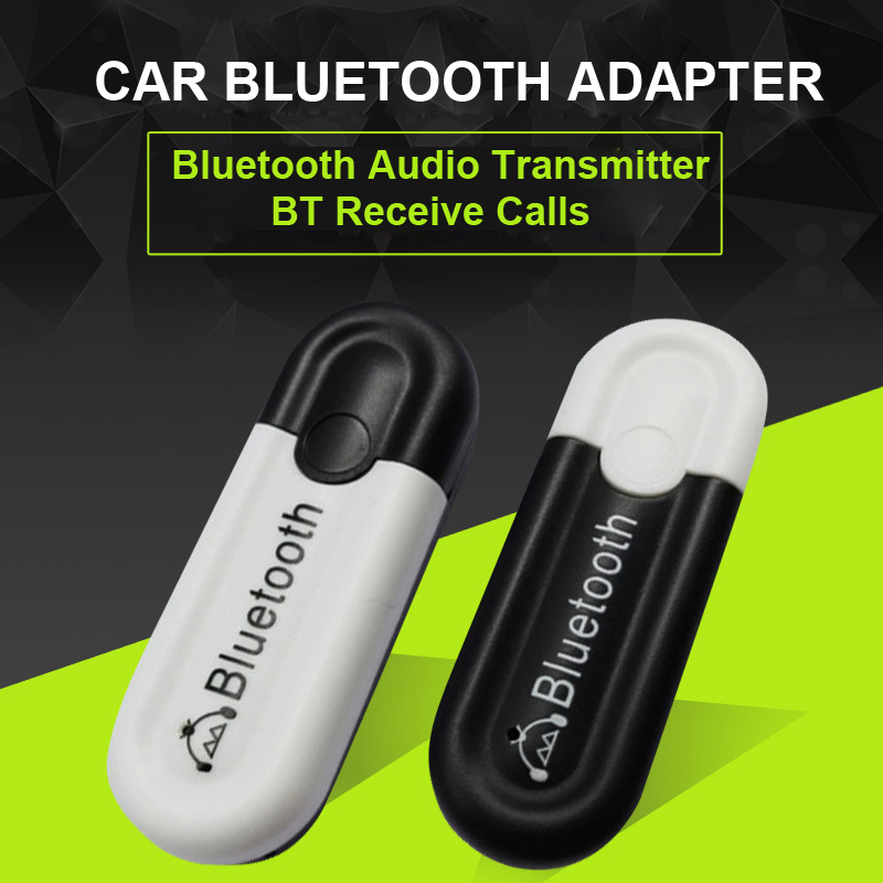Power By USB Car Kit Bluetooth 4.0 AUX Receiver USB Bluetooth Audio Frequency Adapter Mini Size(China (Mainland))