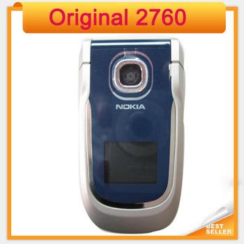 2760 Unlocked Original Cheap  Mobile Phone Nokia 2760 Bluetooth MP3 Video FM Radio Java Games