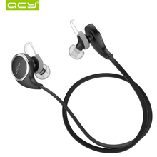 Original QCY QY8 Wireless Bluetooth 4.1 Headphone with Microphone Stereo Studio Active Noise Cancelling Bluetooth Headset
