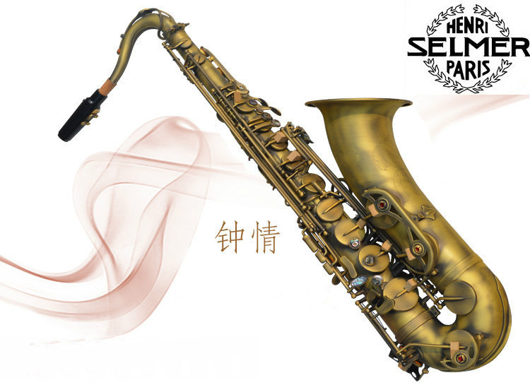 musical instruments professional Henri selmer sax alto saxophone STS-R54 Drop B flat Bronze - Want CO.,LTD store