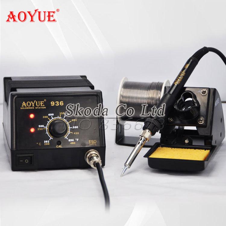 esd safe high quality 220v aoyue 936 soldering station soldering handle heating element. Black Bedroom Furniture Sets. Home Design Ideas