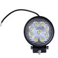 10pcs 27W LED Work Light 30 Degree High Power LED Offroad Light Round Off road LED