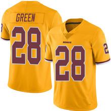 Men's #28 Darrell Green Elite Gold Rush Jersey 100% Stitched(China (Mainland))