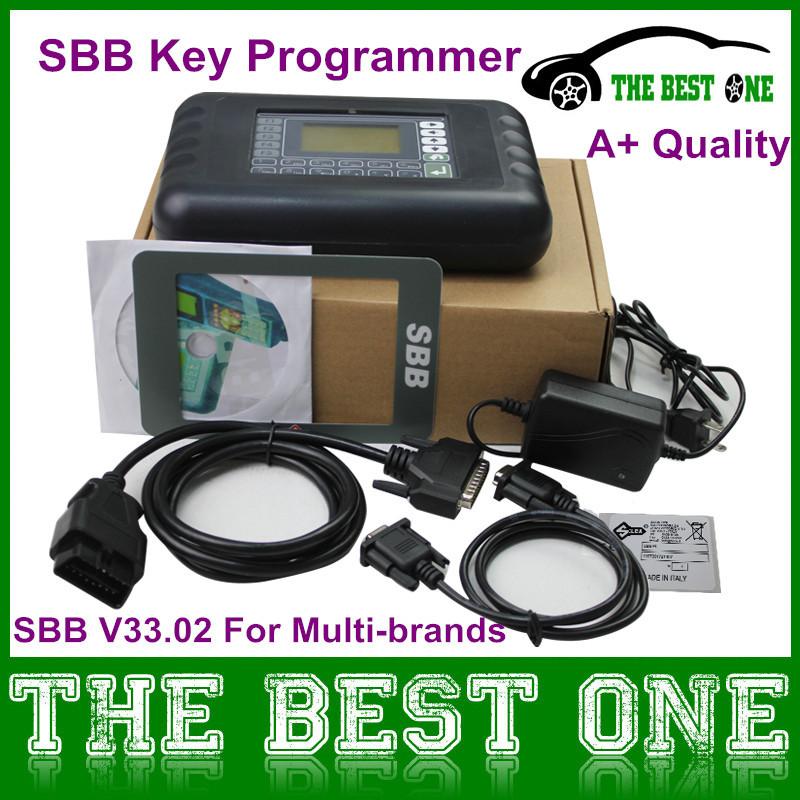 High Quality Silca SBB Key Programmer 2015 Newest Sbb V33.02 Professioanl Key Shell/Locksmith Tool No Token Limited CNP Free(China (Mainland))