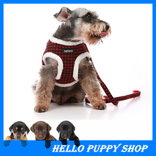 Comfort Soft Breathable Dog Harness Pet Vest Rope Dog Chest Strap Leash Set Collar Leads Harness Adjustable