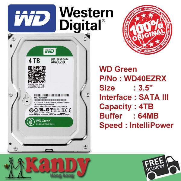 Western Digital WD Green 4TB hdd 3.5 SATA desktop disco duro internal sabit hard disk drive interno hd harddisk disque dur inter(China (Mainland))