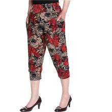 New 2015 Summer Women Floral Printed harem pants women's casual 7 minutes pants ladies loose Pants & Capris G001111(China (Mainland))