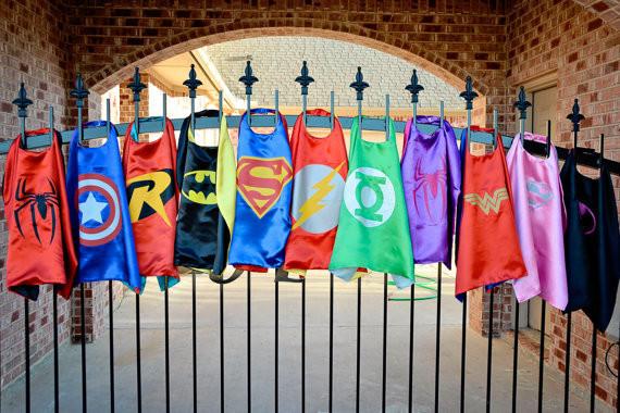 Дети супергерой мыс один слой Человек-Паук/Капитан Америка/Супермен/Бэтмен/Тор/Ironman ...