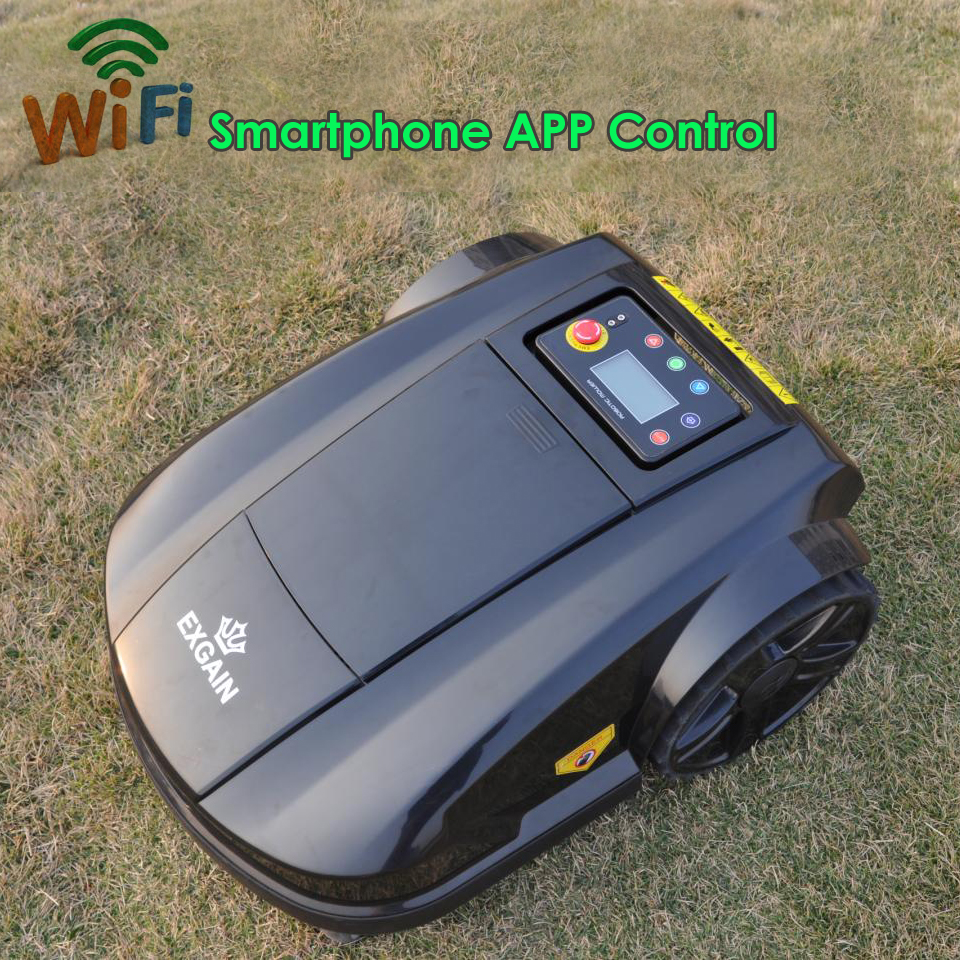 Newest Robotic Mower S520 WIFI App Wireless Control Electric Robot Lawn Mower Waterproof Battery Cordless Lawn Mower(China (Mainland))