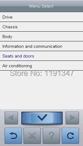 For BENZ For Mercedes Professional OBD2 Diagnostic Scanner tool ABS Code Reader Carecar AET-I