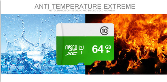 Top selling Green Micro SD Card/TF Card/ Memory Card/ Storage Card Water proof wholesale T5(China (Mainland))