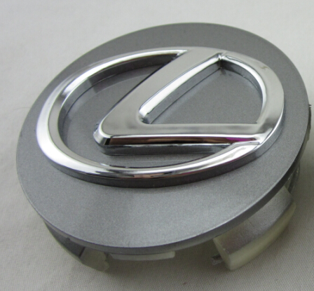 Chrome Lexus wheel rim Center Cap ES350 GS300 IS350 RX350 Silver 62mm(China (Mainland))