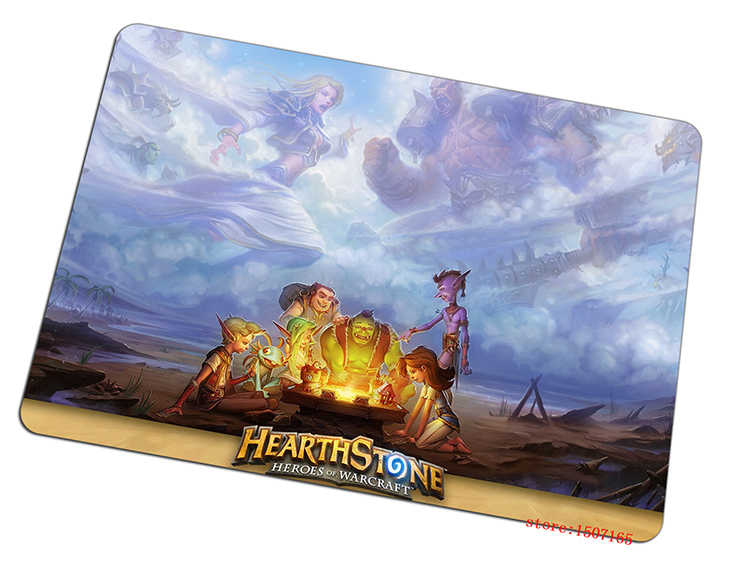 Hearthstone mouse pad Customized pad to mouse computer mousepad Natural rubber gaming padmouse gamer to laptop keyboard mats(China (Mainland))