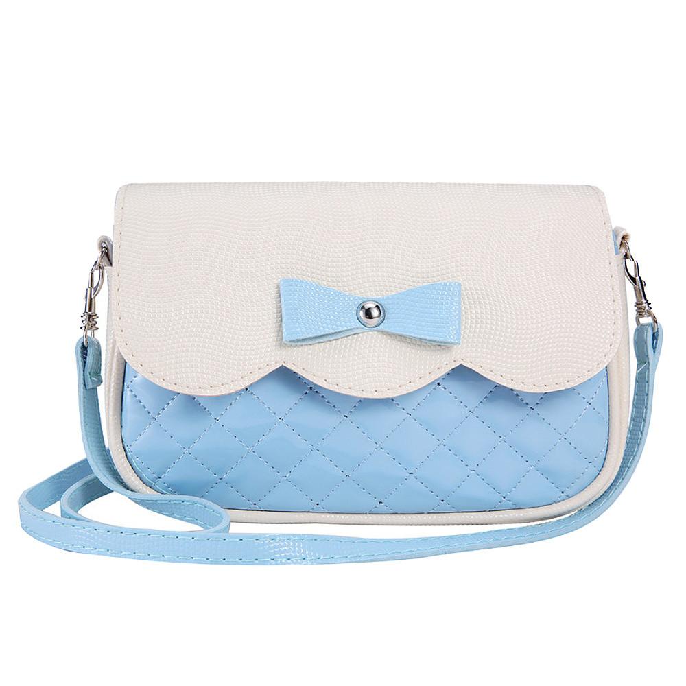 Women Shoulder Bag Bowknot High Quality Panelled  Handbag Fashion Design Crossbody Bag Brand New Bolsas De Ombro #7011