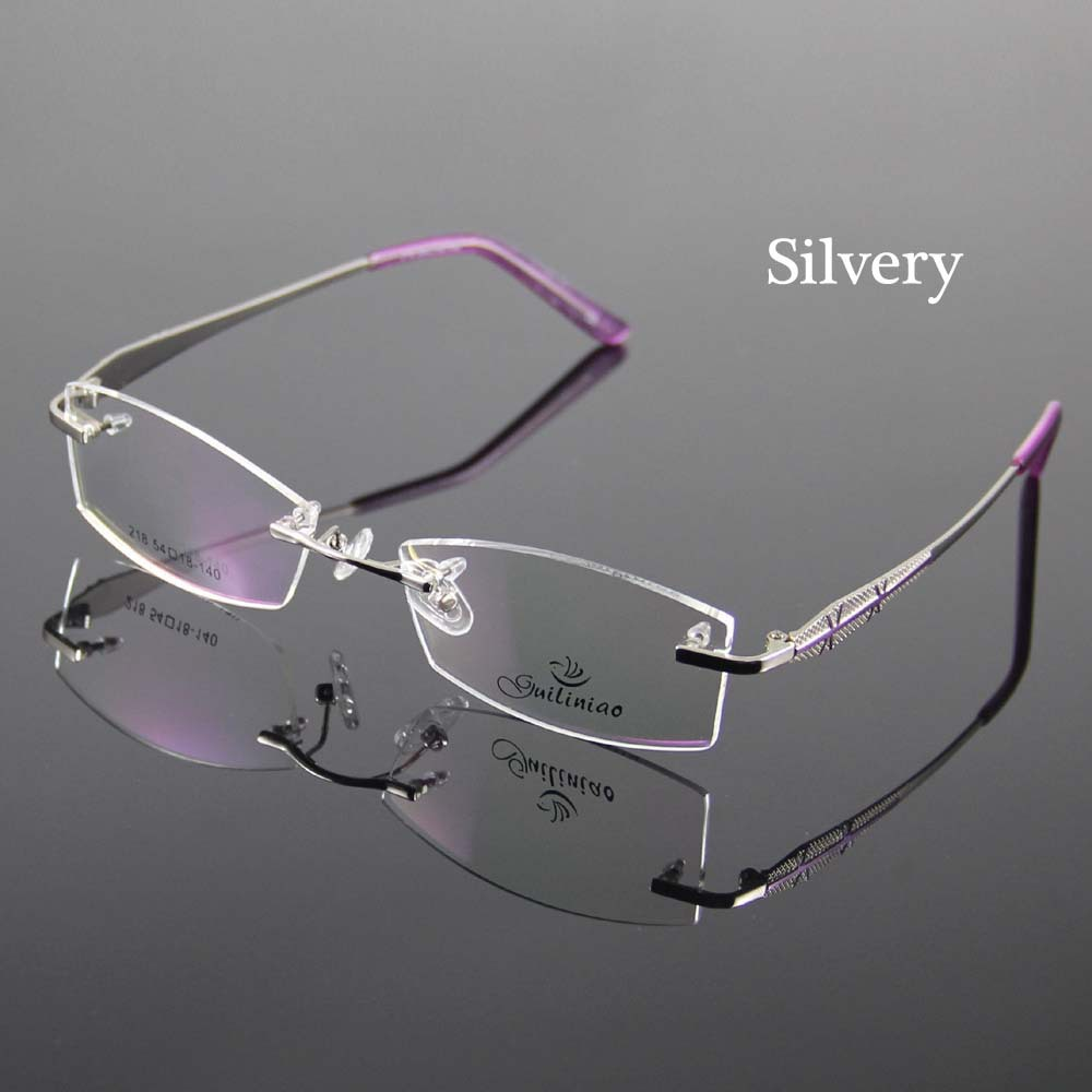 designer optical frames ewq2  women s designer rimless sunglasses