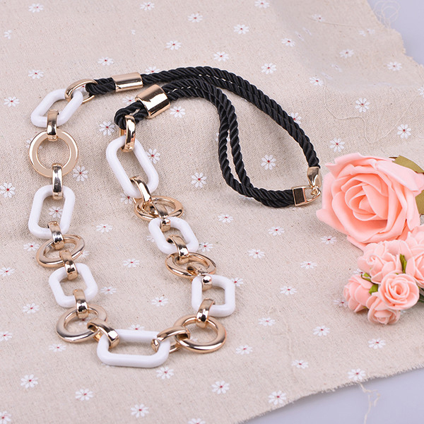Bohemian big chunky necklaces from india jewelry wholesale fashion rope necklace gift for girls dress Pendant necklace(X0203)(China (Mainland))